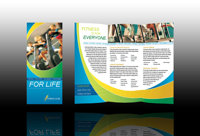 health and wellness flyer templates