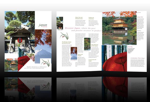 japan travel brochure template - pin creative travel brochure design i12jpg on pinterest