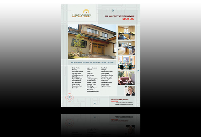 Publisher Real Estate Flyer Templates Real Estate Flyer Templates