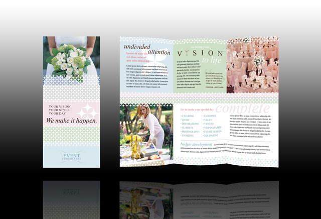 Aurimar 39 s blog wedding rings can be given a more for Wedding planner brochure template