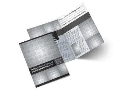 Generic Bi-Fold Brochure Template 10004