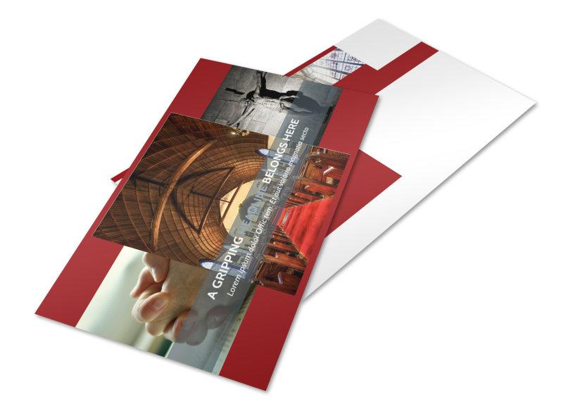 General Church 1 Postcard Template 2