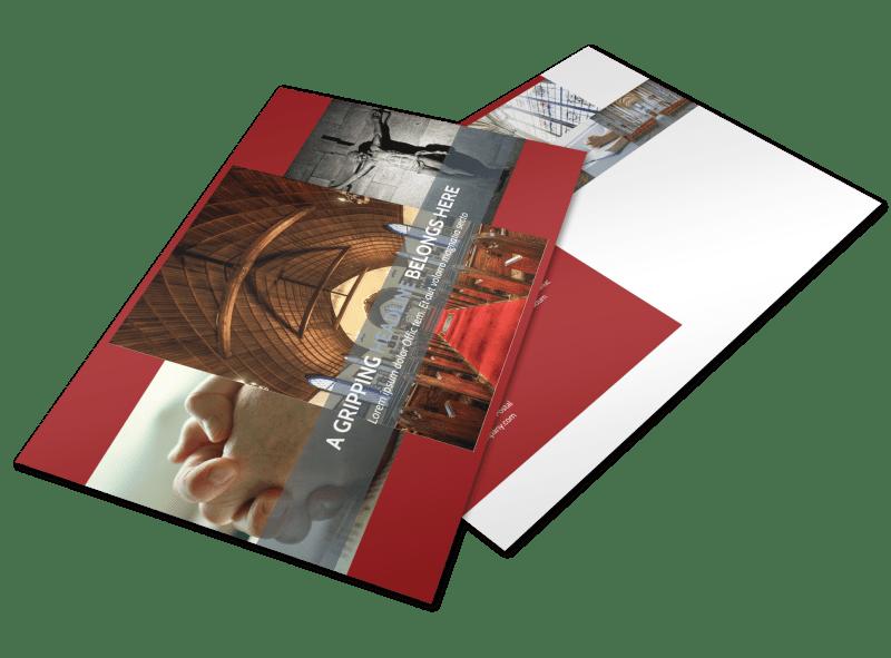 General Church 1 Postcard Template Preview 1