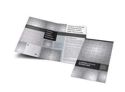 Generic Bi-Fold Brochure Template 10008