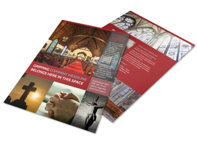 General Church 1 Flyer Template preview