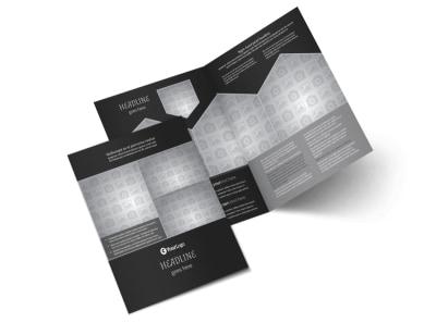 Generic Bi-Fold Brochure Template 10013
