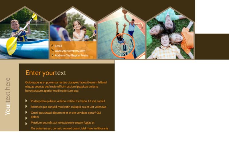 Bible Camp Postcard Template Preview 3