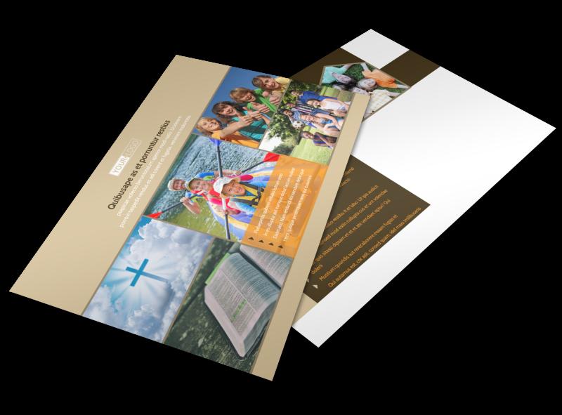 Bible Camp Postcard Template Preview 1