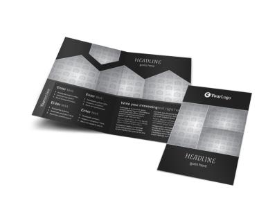 Generic Bi-Fold Brochure Template 10017