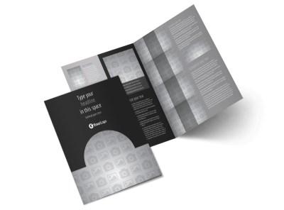 Generic Bi-Fold Brochure Template 10022