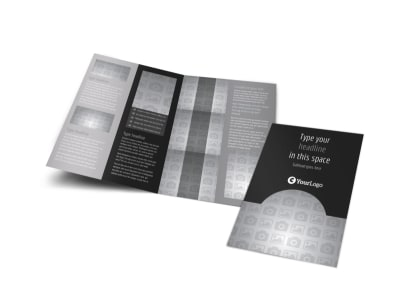 Generic Bi-Fold Brochure Template 10026