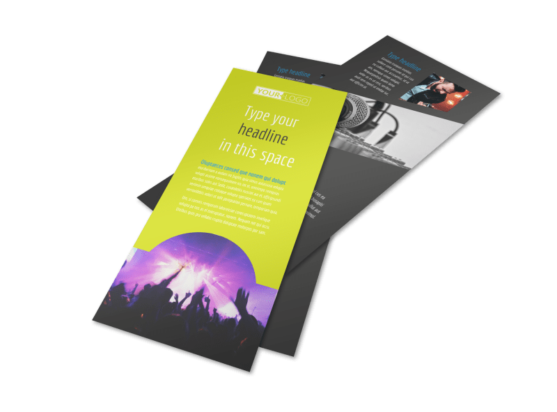 Christian Music Concert Flyer Template Preview 1