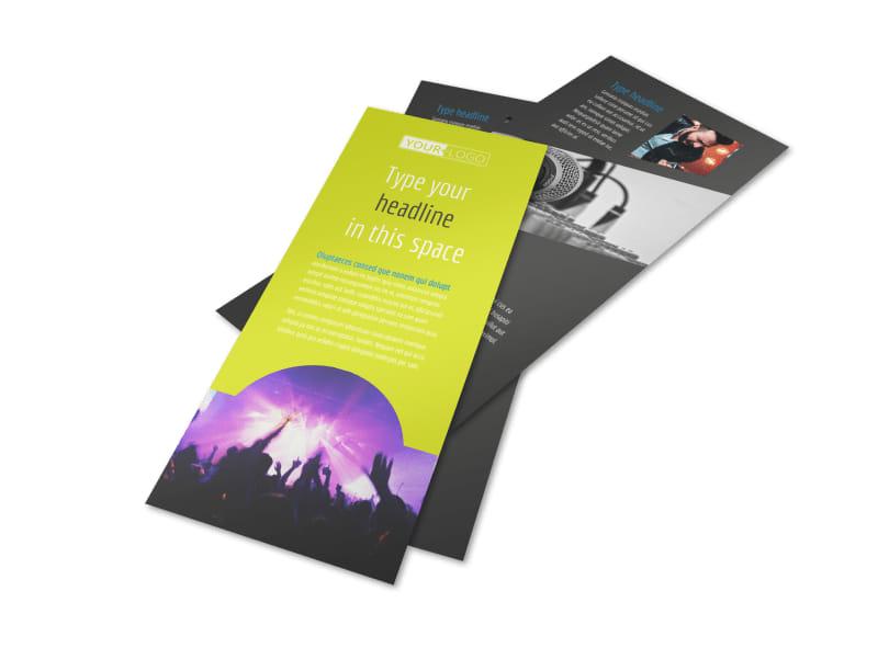 Christian Music Concert Flyer Template 2