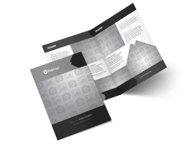 Generic Bi-Fold Brochure Template 10031