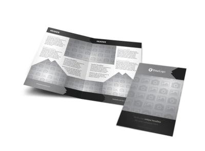 Generic Bi-Fold Brochure Template 10035