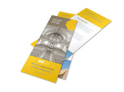 Church Construction Flyer Template 2 preview