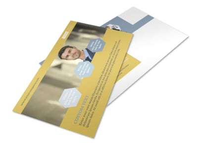 Venture Management Postcard Template 2
