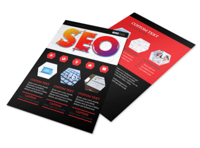 SEO Agency Flyer Template 3