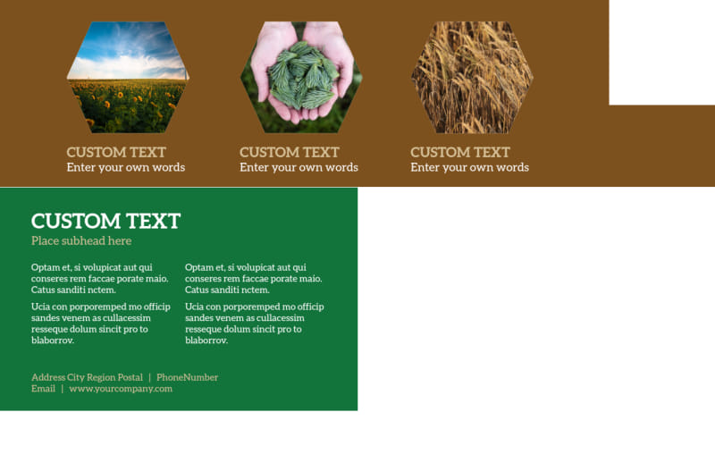 Agriculture Consultants Postcard Template Preview 3