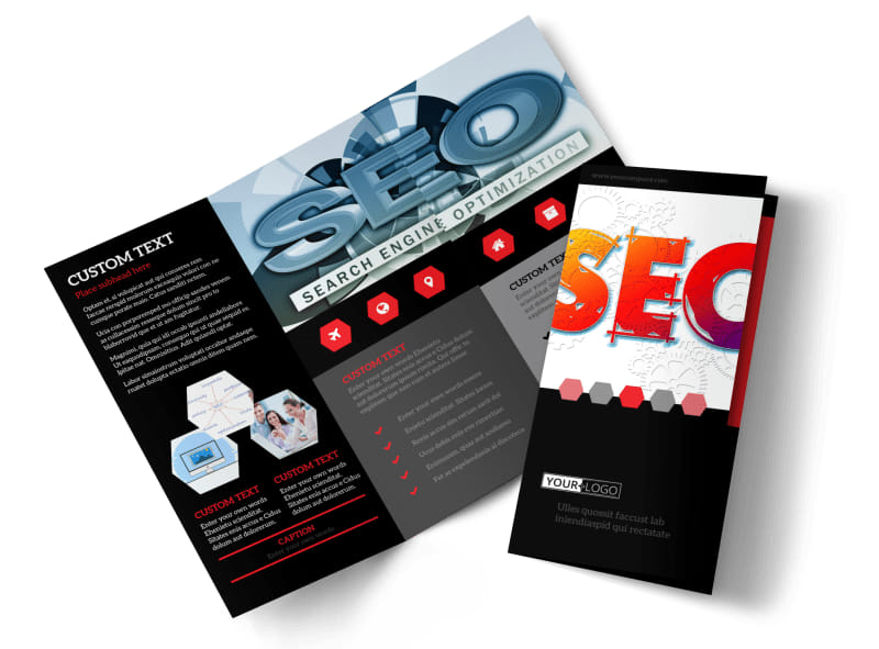 SEO Agency Brochure Template Preview 4