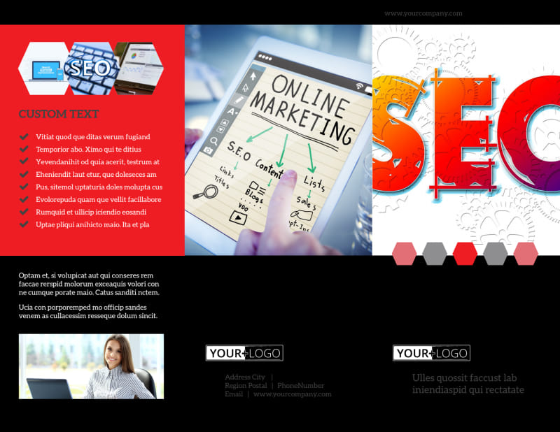 SEO Agency Brochure Template Preview 2