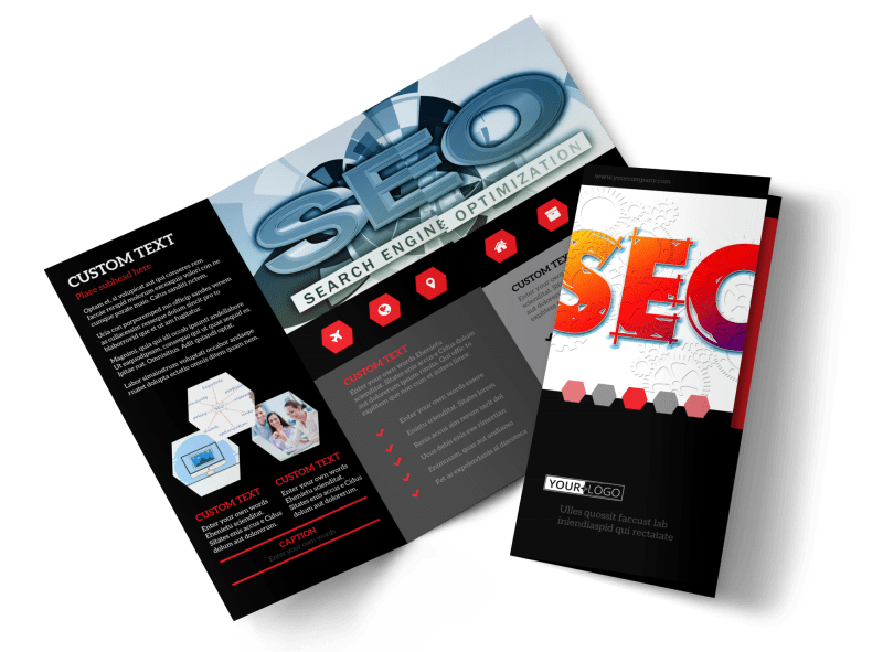 SEO Agency Brochure Template Preview 1