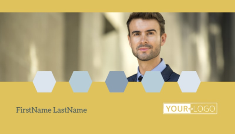 Venture Management Business Card Template Preview 2