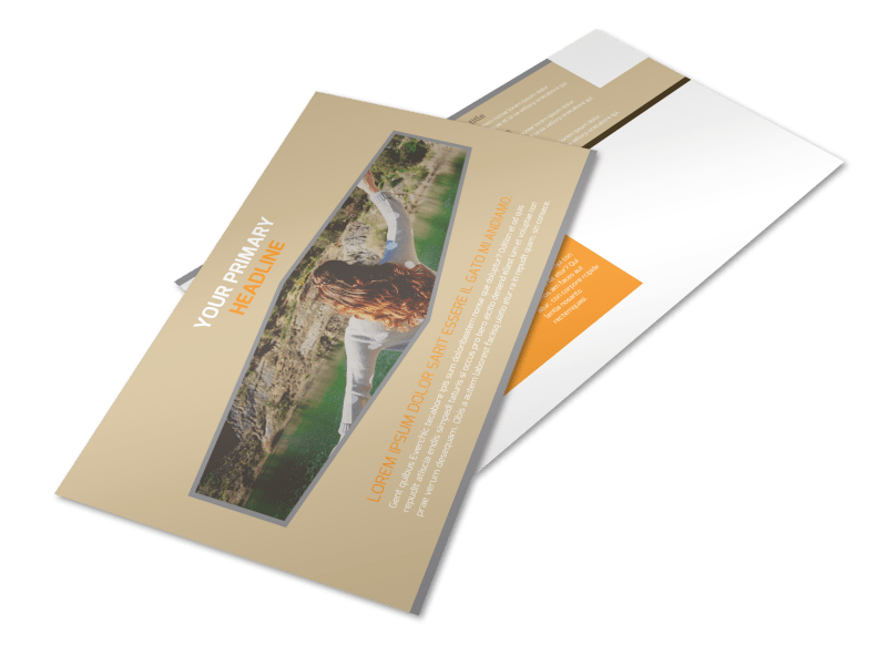 Addiction & Rehab Center Postcard Template Preview 1