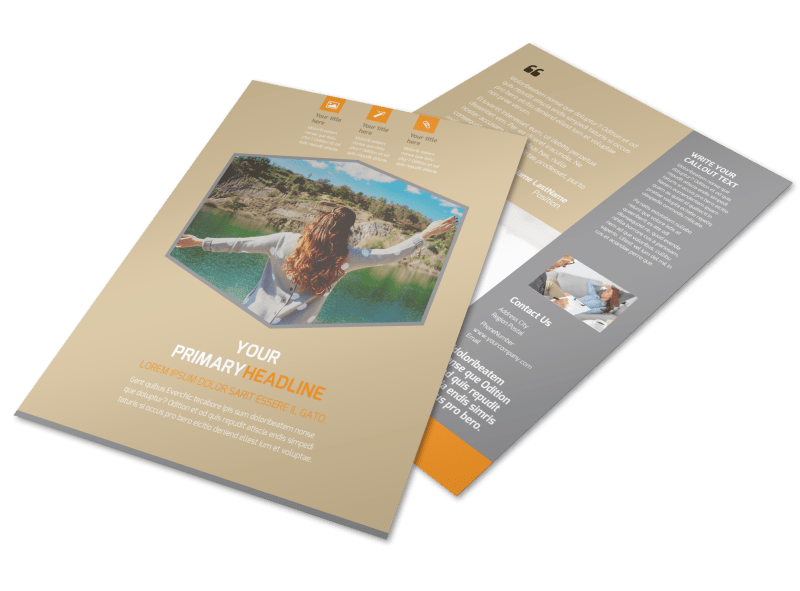Addiction & Rehab Center Flyer Template Preview 1