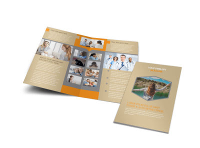 Addiction & Rehab Center Bi-Fold Brochure Template preview