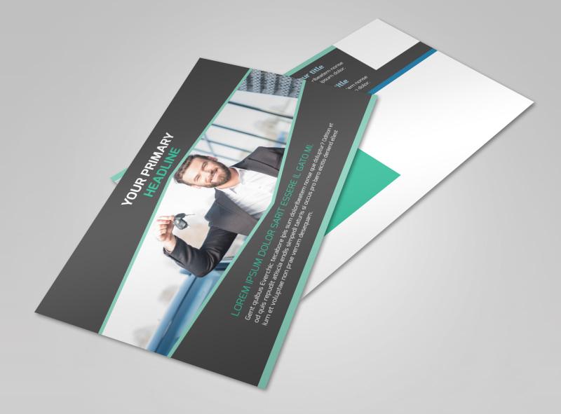 Car Rental Postcard Template 2