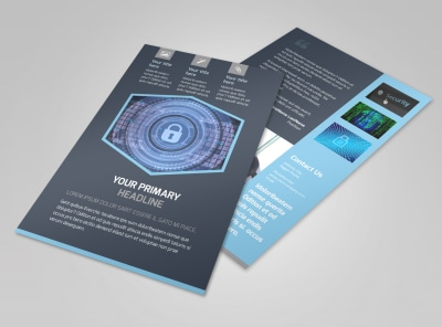 IS Security Flyer Template 3