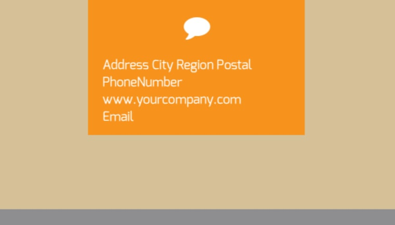 Addiction & Rehab Center Business Card Template Preview 3