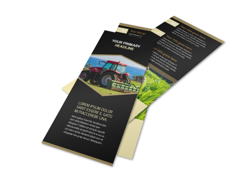Farm Safety Awareness Flyer Template 2