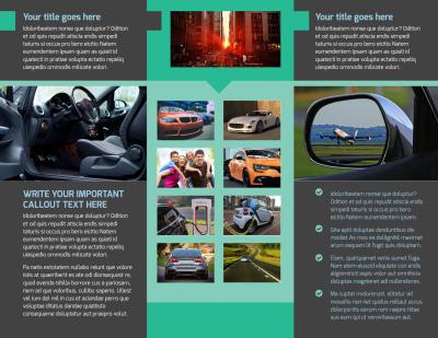Car Rental Brochure Template Preview 2