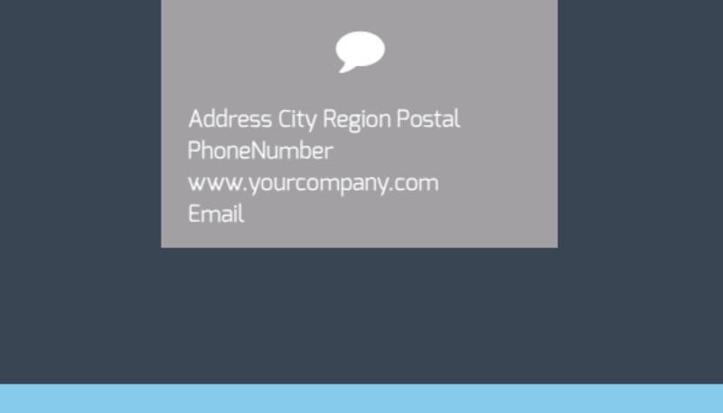 IS Security Business Card Template Preview 3