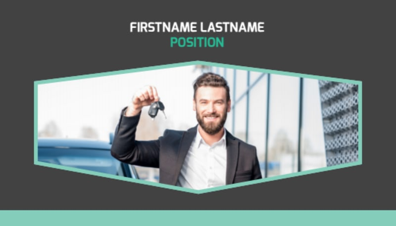 Car Rental Business Card Template Preview 2