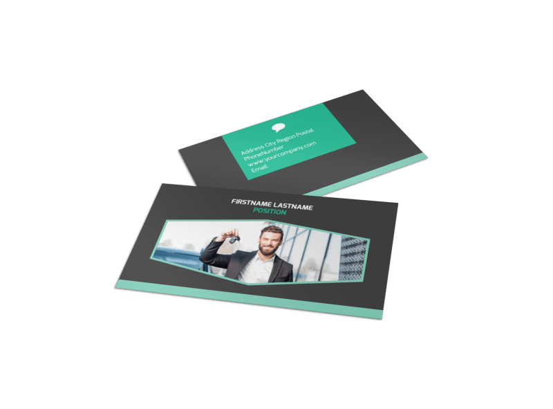 Car Rental Business Card Template Preview 1