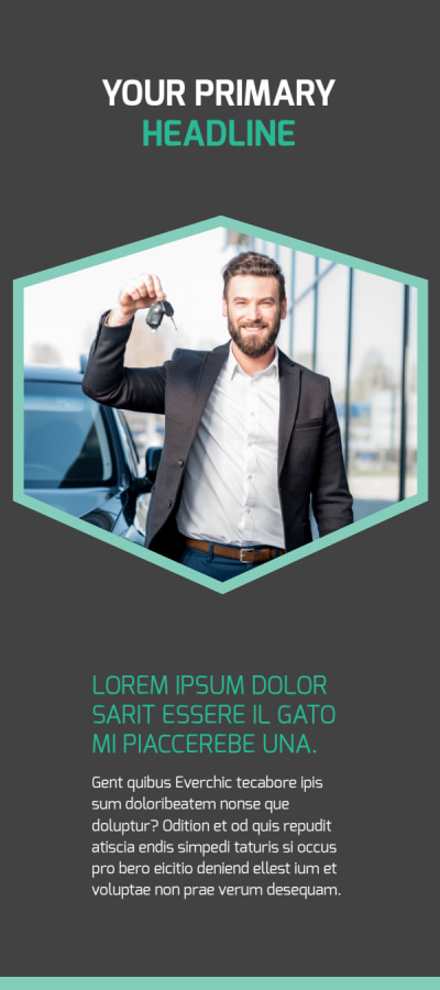 Car Rental Flyer Template Preview 1
