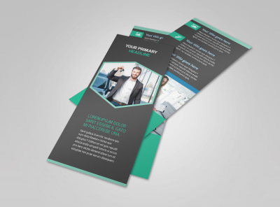 Car Rental Flyer Template 2