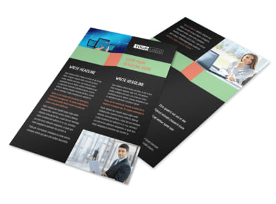 Local IT Consultants Flyer Template 3