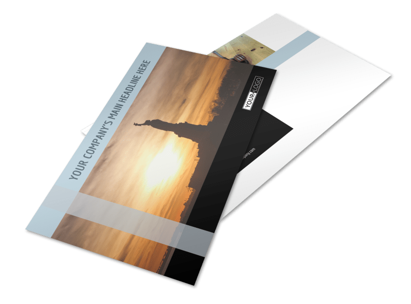 Immigration Attorney Postcard Template Preview 1