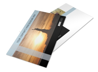 Immigration Attorney Postcard Template 2