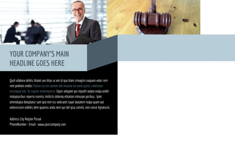 Immigration Attorney Postcard Template Preview 3