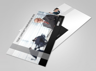 Pro Business Insurance Postcard Template 2 preview