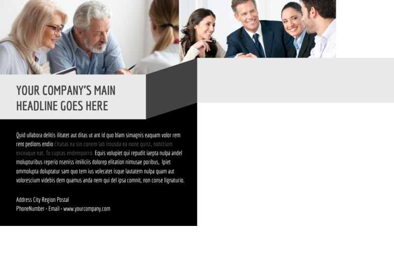 Pro Business Insurance Postcard Template Preview 3