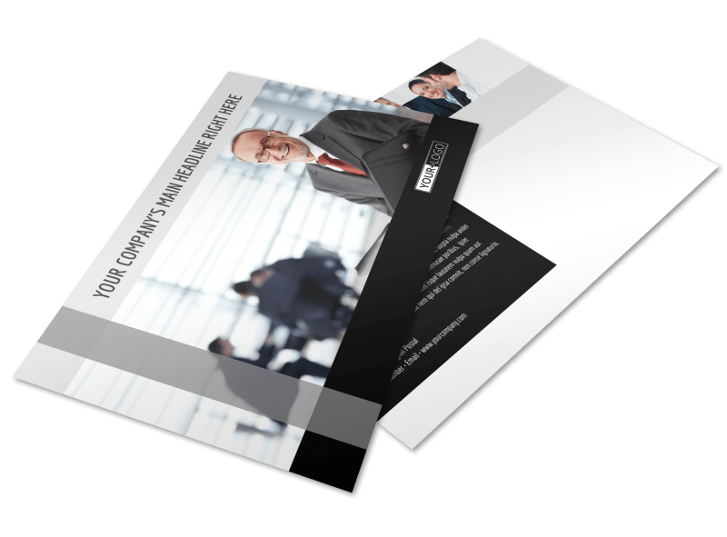 Pro Business Insurance Postcard Template Preview 1