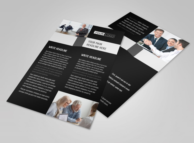Pro Business Insurance Flyer Template 3