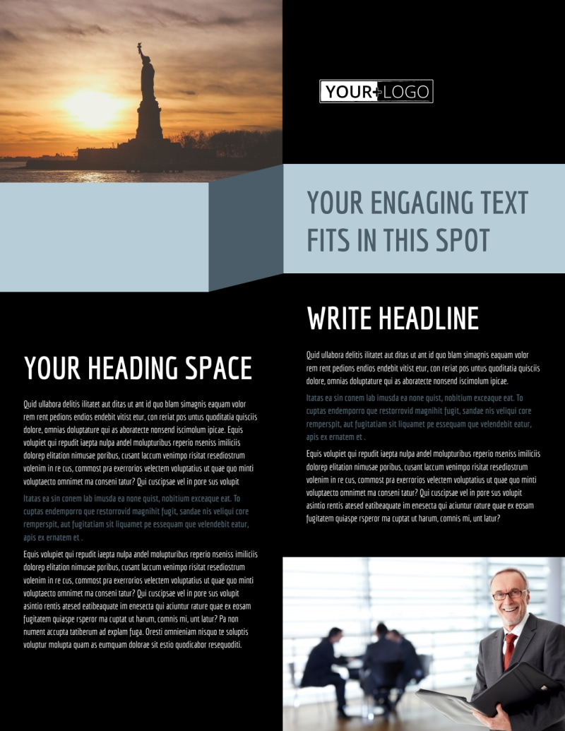 Immigration Attorney Flyer Template Preview 2