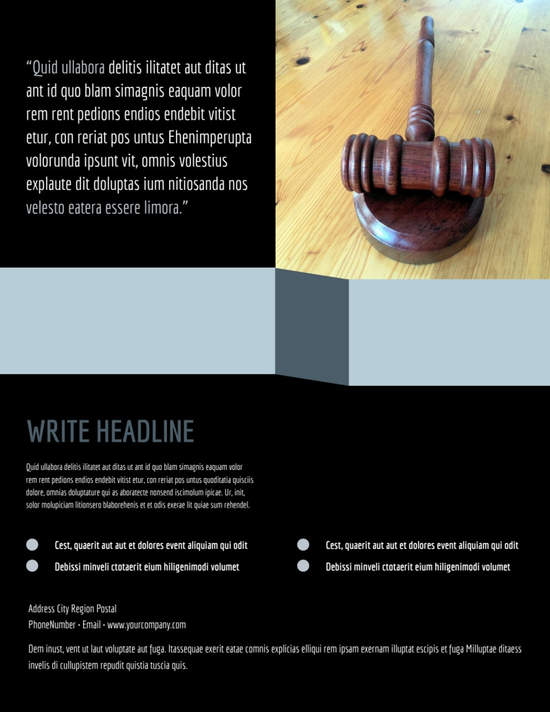 Immigration Attorney Flyer Template Preview 3